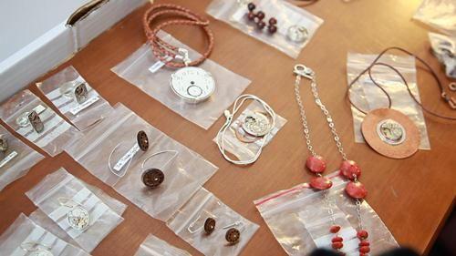 Decimononic fine jewelry at Rebeca Saray Workshop Barcelona November 2012