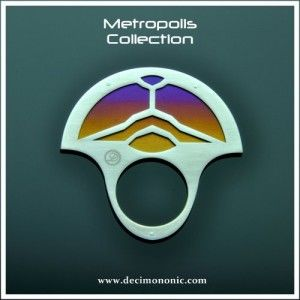 Decimononic - Metropolis Collection - Babylon Ring