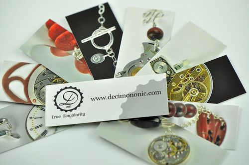Decimononic mini cards 2012