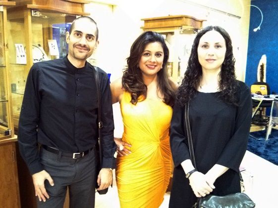 Decimononic team with Reena Ahluwalia