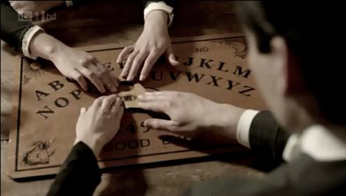Downton Abbey | Season 2 Christmas Special | Ouija board seance