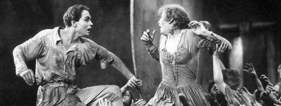 Metropolis (Fritz Lang – 1927) – Freder and Maria