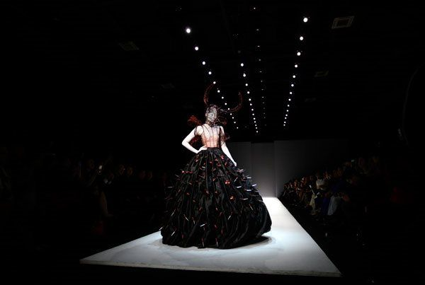 Sheguang Hu - China Fashion Week 2013