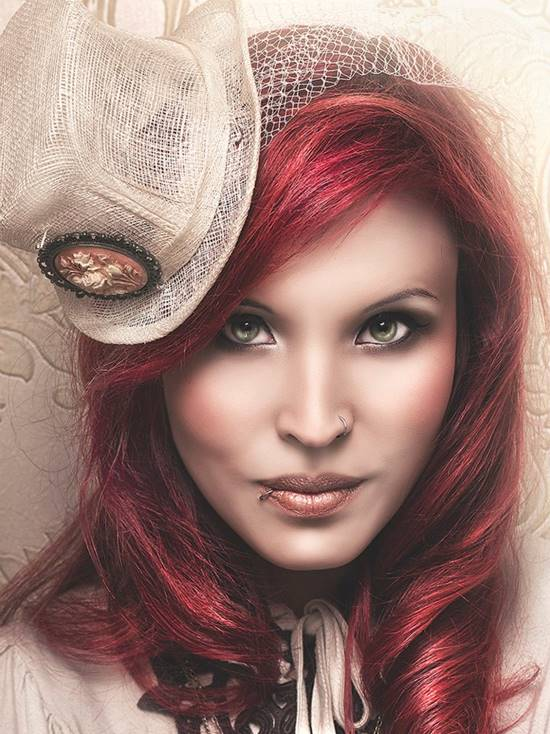 Steampunk bride - Danu Sonja by Rebeca Saray