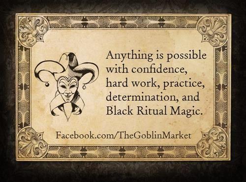 The Goblin Market - Cards of Disfortune