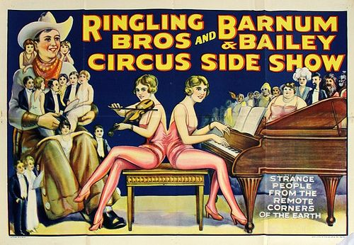 Ringling Bros, Barnum and Bailey Sideshow