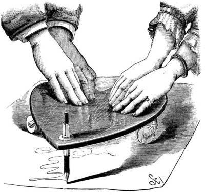 Victorian planchette